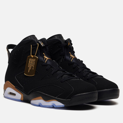 Мужские кроссовки Jordan Air Jordan 6 Retro Defining Moments Black/Metallic Gold/Black