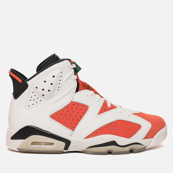 Мужские кроссовки Jordan Air Jordan 6 Retro Gatorade Summit White/Team Orange/Black