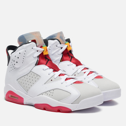 Мужские кроссовки Jordan Air Jordan 6 Retro Hare Neutral Grey/Black/White/True Red