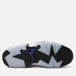 Мужские кроссовки Jordan Air Jordan 6 Retro Leather White/Black/Infrared 23/Dark Concord фото- 4