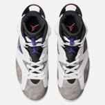 Мужские кроссовки Jordan Air Jordan 6 Retro Leather White/Black/Infrared 23/Dark Concord фото- 5