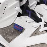 Мужские кроссовки Jordan Air Jordan 6 Retro Leather White/Black/Infrared 23/Dark Concord фото- 6