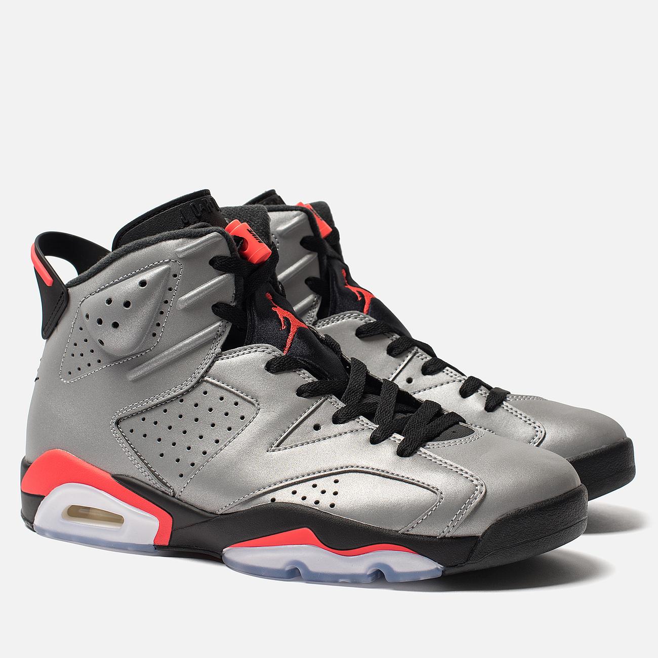 Мужские кроссовки Jordan Air Jordan 6 Retro SP Reflect Silver/Infrared/Black