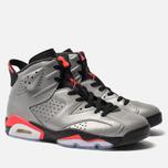 Мужские кроссовки Jordan Air Jordan 6 Retro SP Reflect Silver/Infrared/Black фото- 2