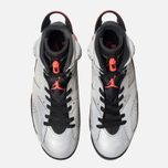 Мужские кроссовки Jordan Air Jordan 6 Retro SP Reflect Silver/Infrared/Black фото- 5