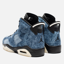 Мужские кроссовки Jordan Air Jordan 6 Retro Washed Denim/Black/Sail/Varsity Red фото- 2