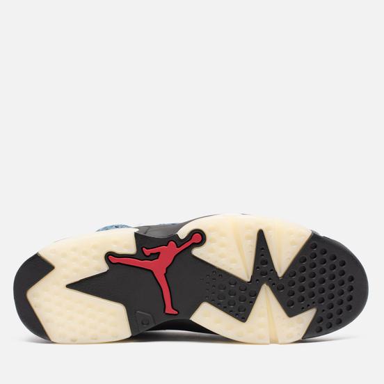 Мужские кроссовки Jordan Air Jordan 6 Retro Washed Denim/Black/Sail/Varsity Red