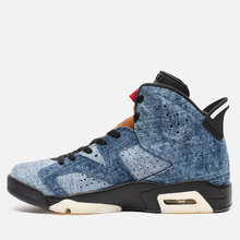 Мужские кроссовки Jordan Air Jordan 6 Retro Washed Denim/Black/Sail/Varsity Red фото- 5