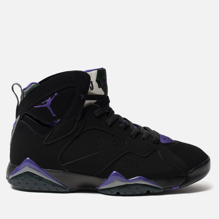 Мужские кроссовки Jordan Air Jordan 7 Retro Ray Allen Black/Field Purple/Fir/Dark Steel Grey