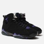 Мужские кроссовки Jordan Air Jordan 7 Retro Ray Allen Black/Field Purple/Fir/Dark Steel Grey фото- 2