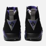 Мужские кроссовки Jordan Air Jordan 7 Retro Ray Allen Black/Field Purple/Fir/Dark Steel Grey фото- 3