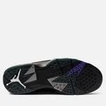 Мужские кроссовки Jordan Air Jordan 7 Retro Ray Allen Black/Field Purple/Fir/Dark Steel Grey фото- 4