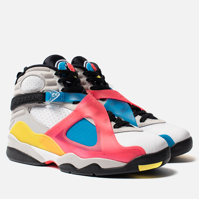 Мужские кроссовки Jordan Air Jordan 8 Retro SE White/Black/Red Orbit/Blue Orbit