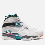 Мужские кроссовки Jordan Air Jordan 8 Retro White/White/Turbo Green/Neutral Grey фото- 0