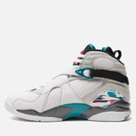 Мужские кроссовки Jordan Air Jordan 8 Retro White/White/Turbo Green/Neutral Grey фото- 1