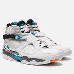 Мужские кроссовки Jordan Air Jordan 8 Retro White/White/Turbo Green/Neutral Grey фото- 2