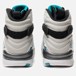 Мужские кроссовки Jordan Air Jordan 8 Retro White/White/Turbo Green/Neutral Grey фото- 4