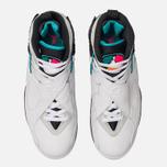 Мужские кроссовки Jordan Air Jordan 8 Retro White/White/Turbo Green/Neutral Grey фото- 5
