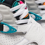 Мужские кроссовки Jordan Air Jordan 8 Retro White/White/Turbo Green/Neutral Grey фото- 6