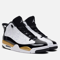 Мужские кроссовки Jordan Air Jordan Dub Zero Black/White/Metallic Gold