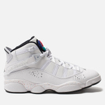 Мужские кроссовки Jordan Jordan 6 Rings White/Black/Canyon Gold/University Red фото- 0