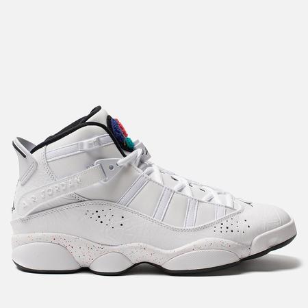 brand new bc251 2ba01 Мужские кроссовки Jordan Jordan 6 Rings White Black Canyon Gold University  Red