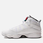 Мужские кроссовки Jordan Jordan 6 Rings White/Black/Canyon Gold/University Red фото- 4
