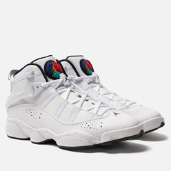 Мужские кроссовки Jordan Jordan 6 Rings White/Black/Canyon Gold/University Red