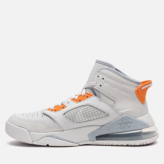 Мужские кроссовки Jordan Mars 270 Vast Grey/White/Bright Ceramic/Wolf Grey