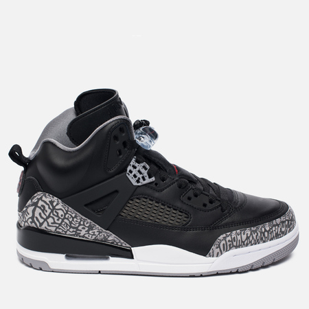 Мужские кроссовки Jordan Spizike Black/Cement Grey/White/Varsity Red