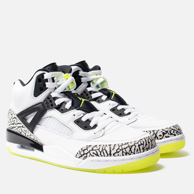 Мужские кроссовки Jordan Spizike White/Volt/Black
