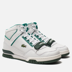Мужские кроссовки Lacoste Missouri Mid 318 Runway White/Dark Green/Green