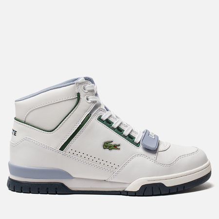Мужские кроссовки Lacoste Missouri Mid 318 Runway White Navy Light Blue cb2c59b074e