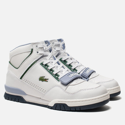 Мужские кроссовки Lacoste Missouri Mid 318 Runway White/Navy/Light Blue
