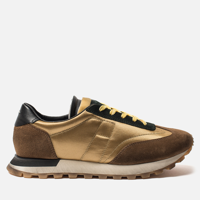 Мужские кроссовки Maison Margiela Extended Sole Runner Khaki/Brown