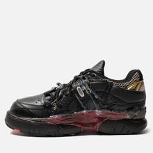 Мужские кроссовки Maison Margiela Fusion Low Top Black/Gold/Red фото- 5