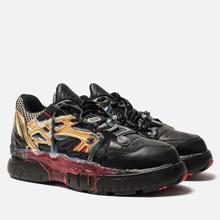 Мужские кроссовки Maison Margiela Fusion Low Top Black/Gold/Red фото- 0
