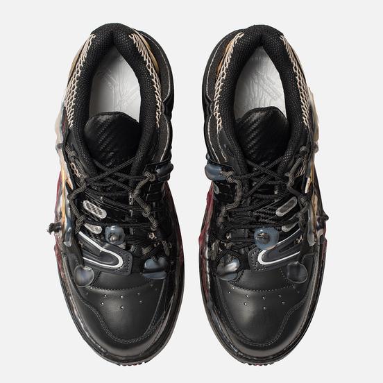 Мужские кроссовки Maison Margiela Fusion Low Top Black/Gold/Red