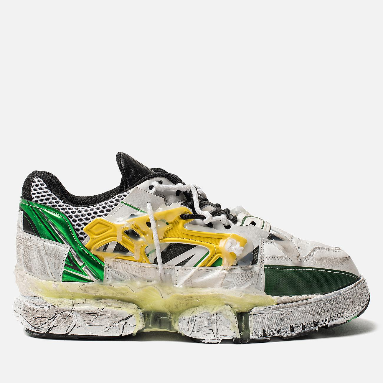 Мужские кроссовки Maison Margiela Fusion Low Top Yellow/Green