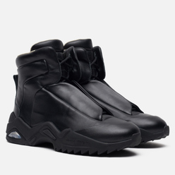 Мужские кроссовки Maison Margiela Future II Leather Top High Black/Black