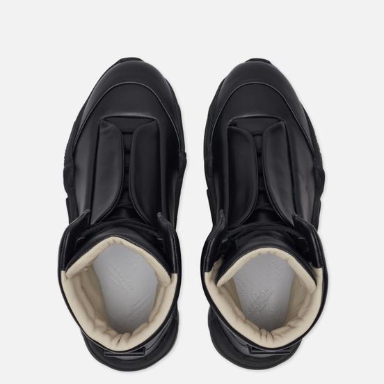 Мужские кроссовки Maison Margiela Future II Leather Top High Black/Black