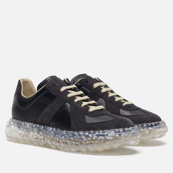 Мужские кроссовки Maison Margiela Replica Caviar Black