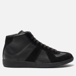 Мужские кроссовки Maison Margiela Replica High Top Black фото- 0