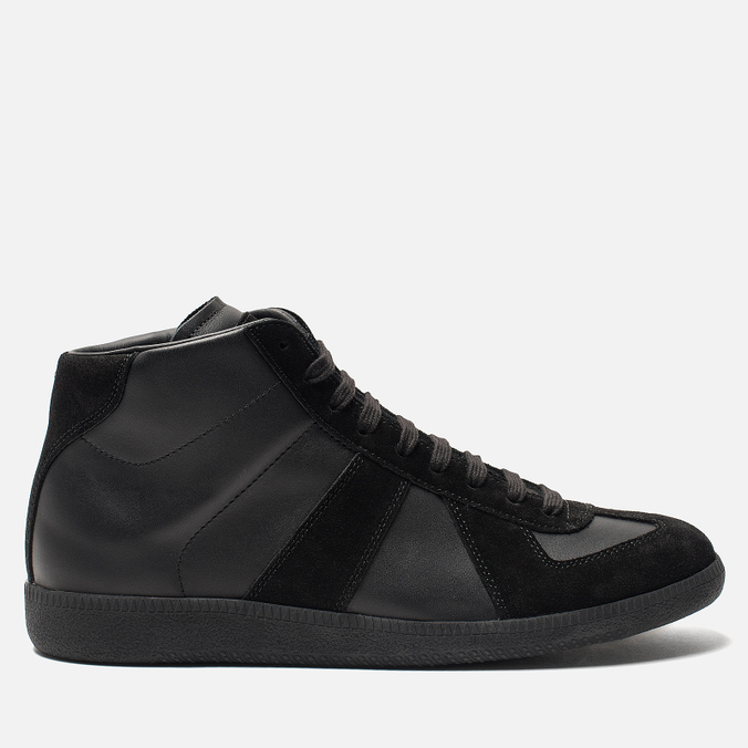 Мужские кроссовки Maison Margiela Replica High Top Black