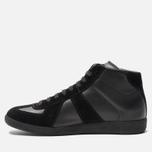 Мужские кроссовки Maison Margiela Replica High Top Black фото- 2