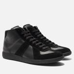 Мужские кроссовки Maison Margiela Replica High Top Black фото- 1