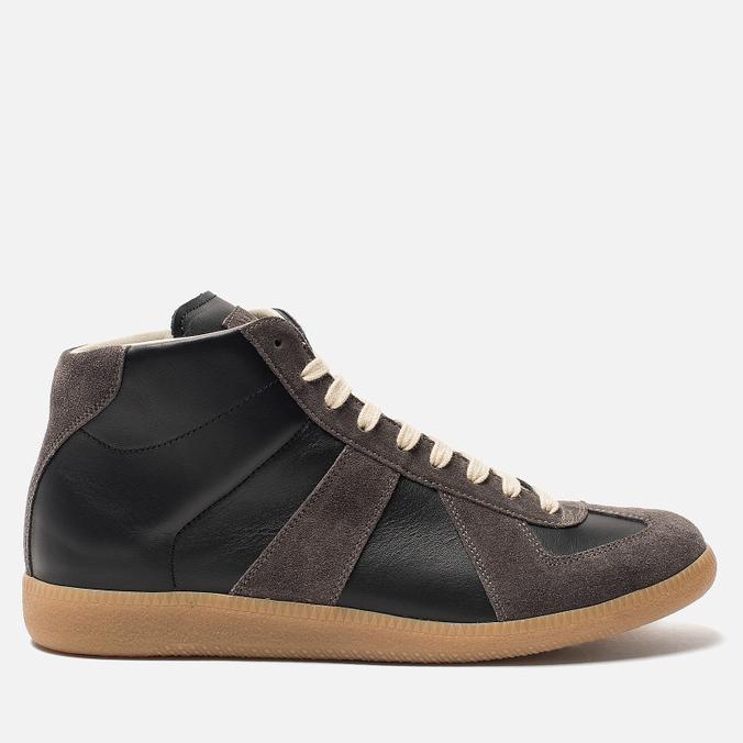 Мужские кроссовки Maison Margiela Replica High Top Carry Over Black
