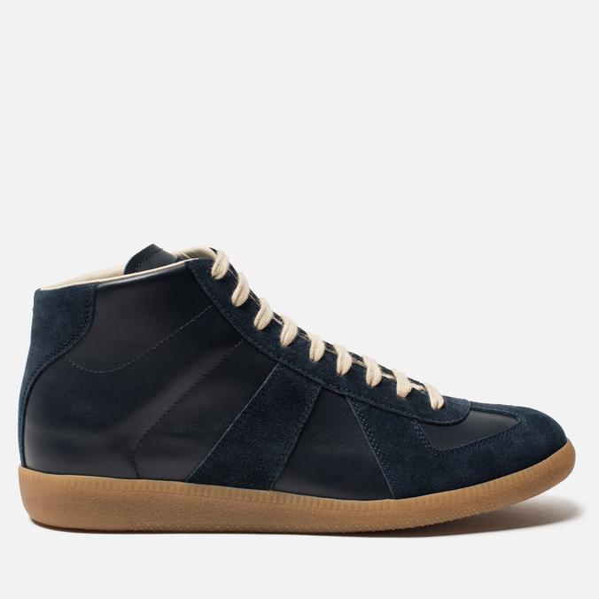 Мужские кроссовки Maison Margiela Replica High Top Carry Over Dark Blue