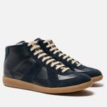 Мужские кроссовки Maison Margiela Replica High Top Carry Over Dark Blue фото- 2