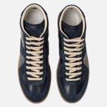 Мужские кроссовки Maison Margiela Replica High Top Carry Over Dark Blue фото- 4